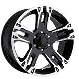"""Ultra Wheel 235B Maverick Matte Black Wheel (20x9""""/6x135m..."""