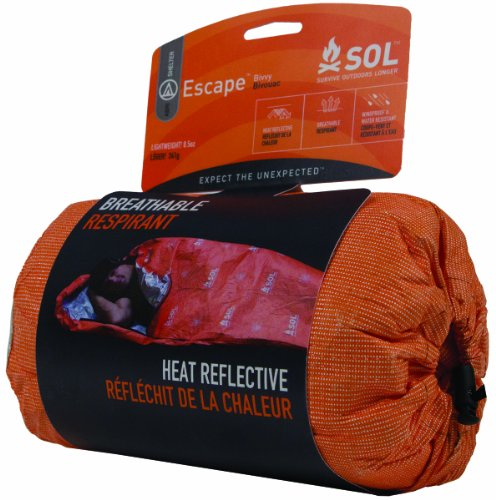 518ilJBqEIL - Adventure Medical Kits Sol Escape Bivvy - Orange