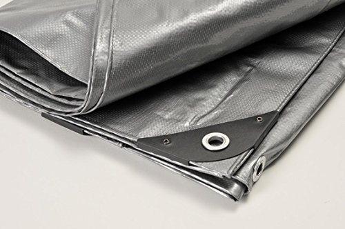 Extra Heavy Duty Tarp. Water Proof. UV Blocking. Reversible. All Purpose. 14MIL - National Standard Products® (14X20) by National Standard Products®
