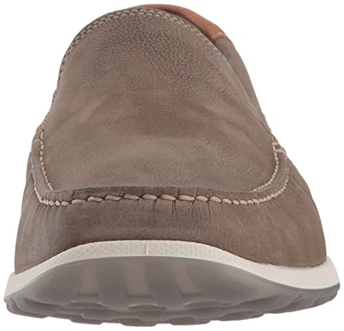 Ecco Mens Dip Moc Mocassino Lux Moonless