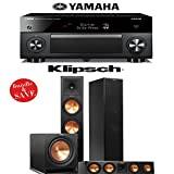 Yamaha RX-A2060BL AVENTAGE 9.2-Channel Network A/V Receiver + Klipsch RP-280F + Klipsch RP-450C + Klipsch R-112SW - 3.1 Reference Premiere Home Theater Package