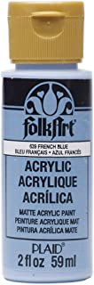product image for FolkArt Acrylic Paint in Assorted Colors (2 oz), 639, French Blue