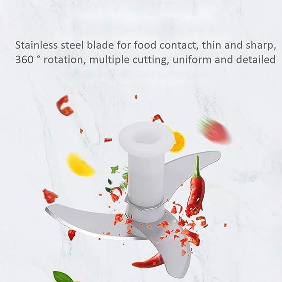 XYNB Mandolinas Mini Manual Procesador de Alimentos Picador ...