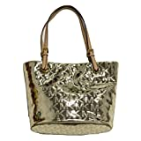 Michael Kors Purse Jet Set Item MD Tote in Pale Gold