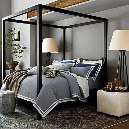 寝具布団カバー アメリカンコットン4セットベッドダブルベッドリネンコットン/ 2.0アクティビティフィットキット 超ソフト低刺激性 (色 : 1.8m (6 Feet) Bed, サイズ : Hui students) 1.8m (6 Feet) Bed Hui students