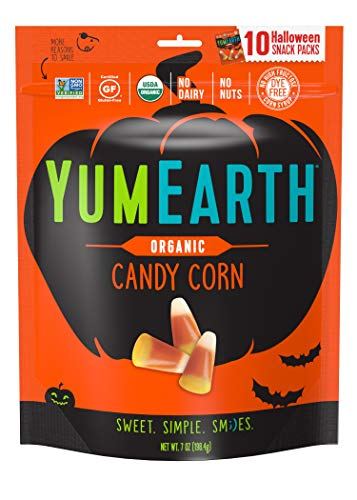YumEarth Organic Candy Corn Snack Packs, 10 Count