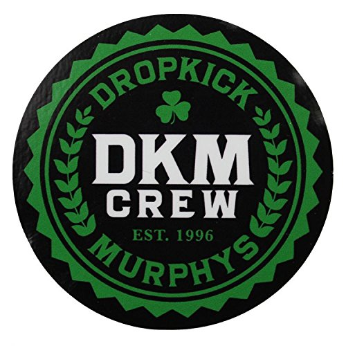 Dropkick Murphys - Sticker - DKM Crew Logo [3 Inches] - Licensed New ()