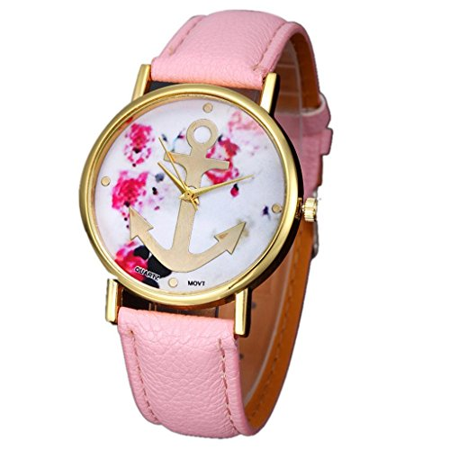 Kingfansion Womens Leather Floral Printed product image