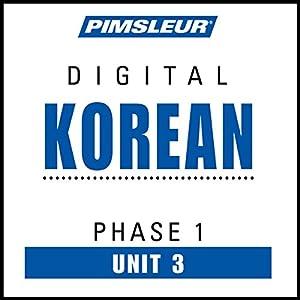 Korean Phase 1, Unit 03 Audiobook