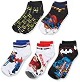 Productos Para Ninos Best Deals - Doobalo Batman/Superman Calcetín Original para Niños Paquete 5 Pares,  Unitalla