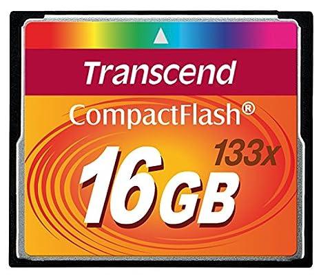 Transcend 16GB 133x Compactflash Memoria Flash - Tarjeta de ...