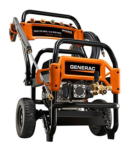 UPC 696471068559, Generac 6855 3,600 PSI, 2.6 GPM, Gas Powered Commercial Pressure Washer (49-State/CSA Compliant) Discontinued by Manufacturer