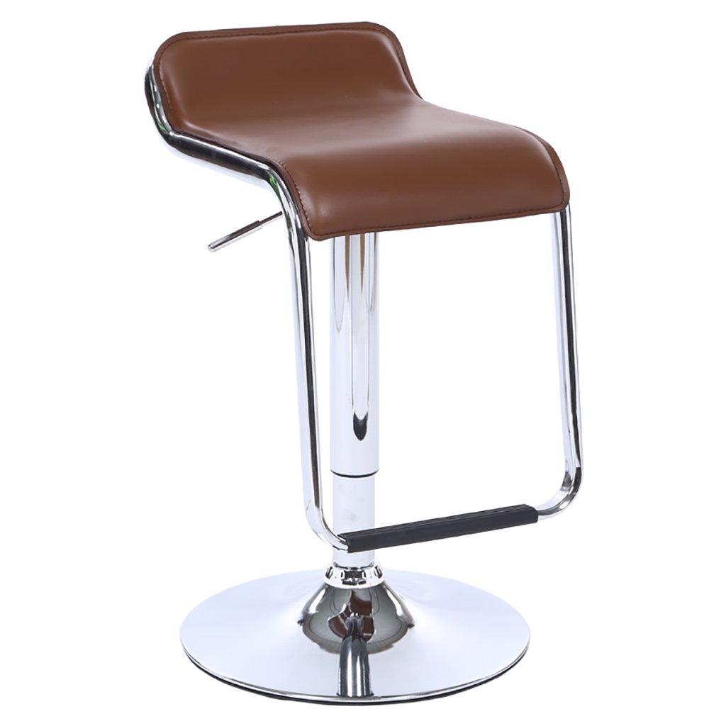 XUEPING チェアーバーチェアロータリーリトラクタブル合成皮革スポンジフィル9色クラシックデザインのフロントデスクキャッシュバー美容院の椅子 ( 色 : I ) B07BTPC8LD I I
