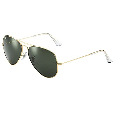 Amazon.com: Ray-Ban RB3025 Aviator anteojos de sol: RAY BAN ...