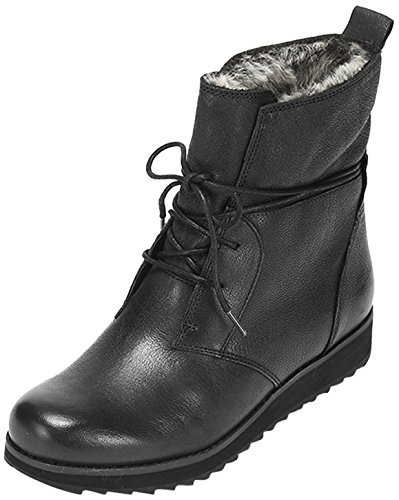 Clarks Minx Judy - Botas Mujer Black Leather
