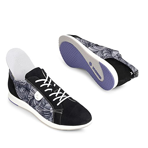 Calzado deportivo para mujer, color Negro , marca GEOX, modelo Calzado Deportivo Para Mujer GEOX D AVERY Negro Negro