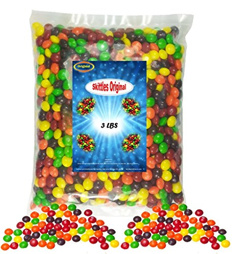 Skittles Original Candy 3 pound Bag