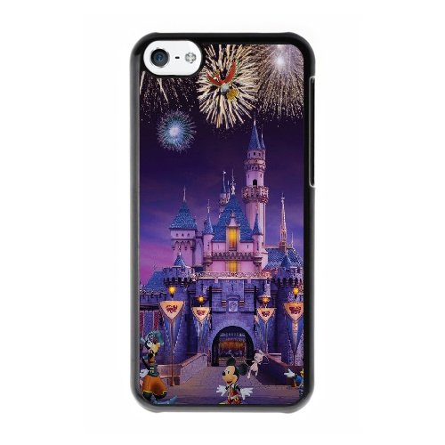 Coque,Coque iphone 5C Case Coque, Ryan Gosling Disneyland Cats Cover For Coque iphone 5C Cell Phone Case Cover Noir