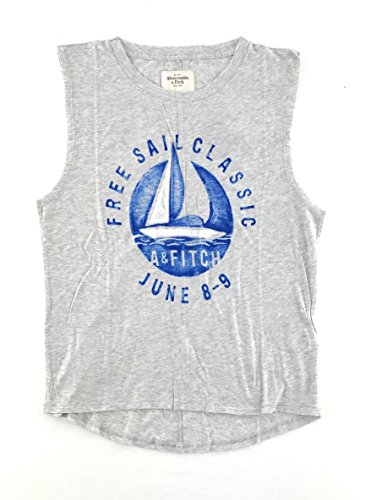 Abercrombie & Fitch Womens Muscle Tank Top Medium Gray 0576-012