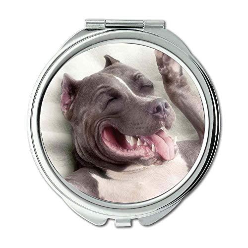 Mirror,Small Mirror,French Bulldog,pocket mirror,1 X 2X -