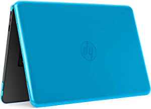 """iPearl mCover Hard Shell Case for 14"""" HP Stream 14-AX000 14-CBxxx series (NOT compatible with HP Stream 14 Zxxx and HP Chromebook 14 G1/G2/G3/G4 series) Windows laptops (HP S14-AX) (Aqua)"""