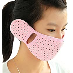 Brave Tour Cold-proof Mask Earmuff Cycling Hiking Warmer Mask (Pink)