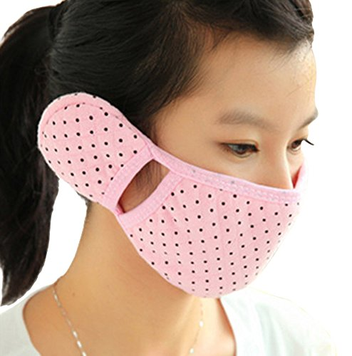 Price comparison product image Brave Tour Cold-proof Mask Earmuff Cycling Hiking Warmer Mask (Pink)