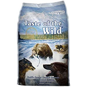 Taste of the Wild Dry Dog Food Pacific Stream Canine Smoked Salmon 30 Pounds