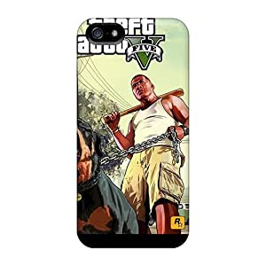 5/5s Scratch-proof Protection Case Cover For Iphone/ Hot Gta V Franklin Phone Case