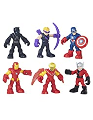 Playskool Heroes Super Hero Adventures Captain America Super ...