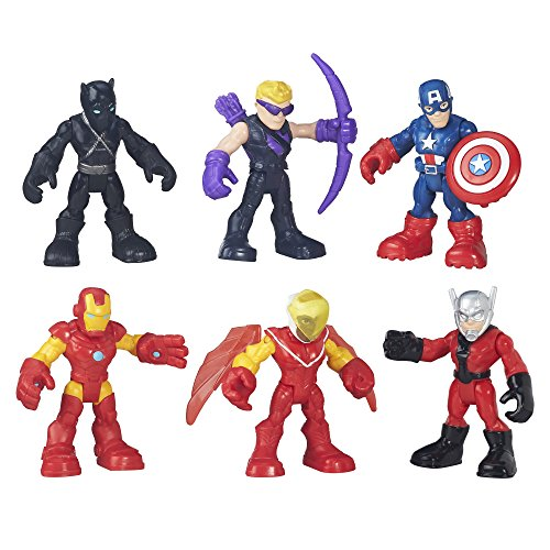 (Playskool Heroes Super Hero Adventures Captain America Super Jungle Squad)