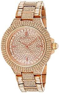 Michael Kors MK5862 Women's Quartz Analogue Watch-Rose Gold Stainless Steel Bracelet