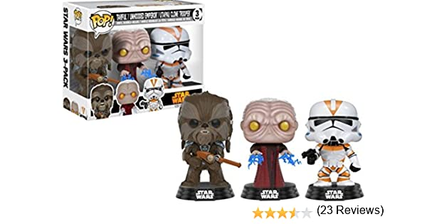 Funko ¡ POP! Star Wars Tarfful,unhooded Emperador,Utapau SOLDADO ...