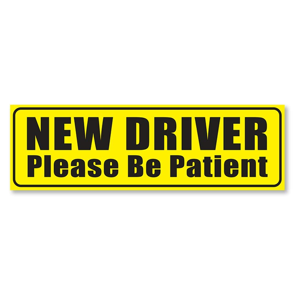 ITS A SKIN New Student Driver Vinyl Sticker Decal for Car Truck Bumpers Windows Doors 1 Safety Decal