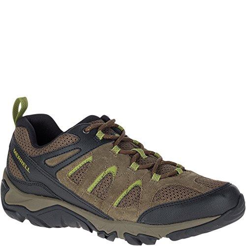 Merrell Mens Outmost Vent Hiking Shoe Boulder