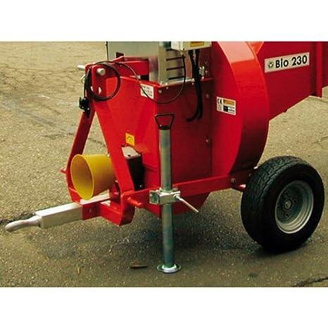 Triturador en toma de fuerza caravaggi Bio 230 TS NC - diámetro 12 cm - para tacteur de pequeña potencia: Amazon.es: Jardín