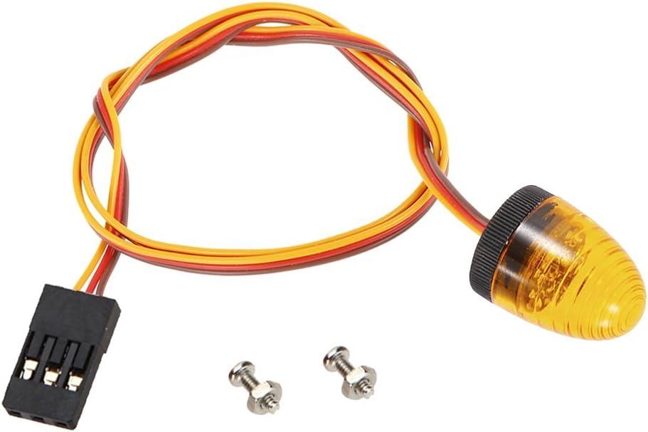 4PCS RC Car LED Rotating Beacon Light Flashing for Trucks Crawlers Model Toy