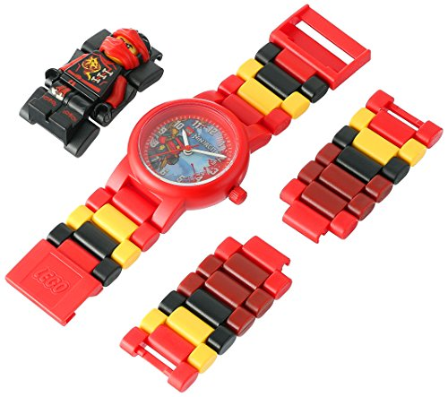 Amazon.com: LEGO Watches and Clocks Boys Ninjago Sky Pirates Japanese-Quartz Watch with Plastic Strap, Multi, 10 (Model: 8020547: Watches