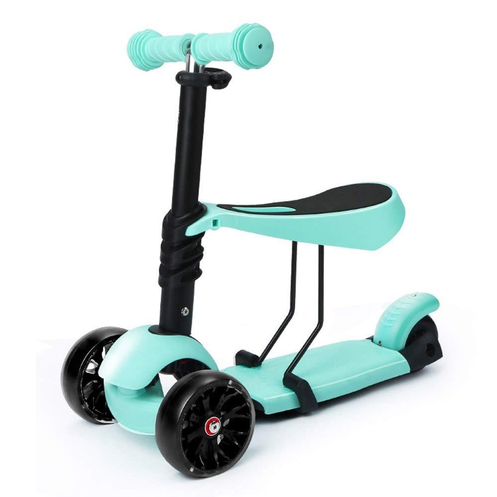 子供のスクーターは三輪子供の車を導いたライトホイールハンドル4速調整シート3速調整2色オプション ( ) Color ( : Green B07PRJ3256 ) B07PRJ3256, MATFER shop:55e58267 --- cgt-tbc.fr
