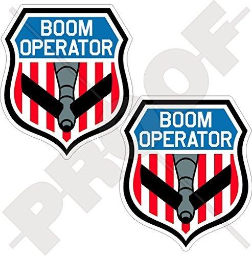 BOOM OPERATOR Shield USAF KC-135 Stratotanker, KC-10 Extender, KC-767, KC-46 Pegasus Refueling Tanker Aircraft USA American 3