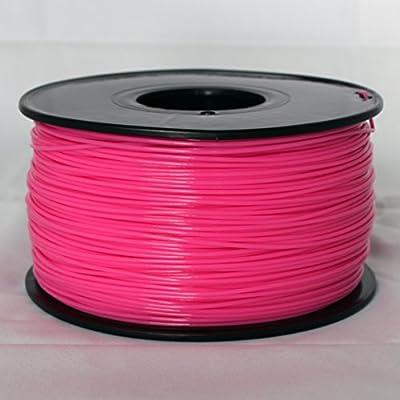 iEagle Solid Pink 3.0mm ABS Filament - 2.0lb. Spool for 3D Printers