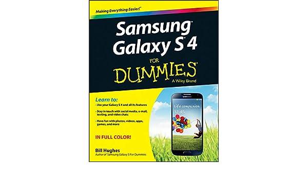 Samsung Galaxy S 4 For Dummies: Amazon.es: Bill Hughes ...