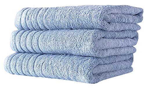 SALBAKOS Oversized Bath Towels Barnum Collection - Turkish Luxury Hotel & Spa Quality 30'x56'...