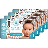 The Honest Company Baby Diapers With TrueAbsorb Technology, Baby Boo, Size 1, 140 Count