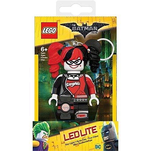 [해외]LEGO 배트맨 영화 - 할리 퀸 LED 키 체인 라이트/LEGO Batman Movie - Harley Quinn LED Key Chain Light