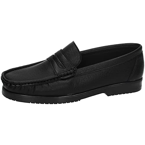 MADE IN SPAIN 62102 Mocasines Negros Hombre Zapatos MOCASÍN Negro 40: Amazon.es: Zapatos y complementos