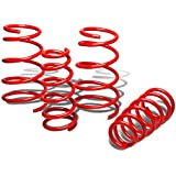 Nissan Sentra Suspension Lowering Spring (Red) - B15