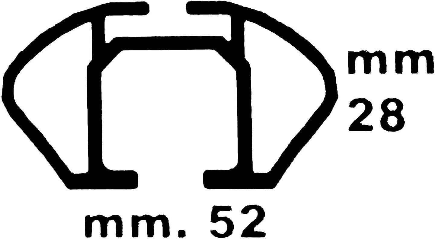a Partire da 13 vdp Box da Tetto VDPBA320 320 Litri carbonlook con Serratura Barre Portapacchi VDPLION1 Compatibile con Dacia Logan MCV 5 Porte