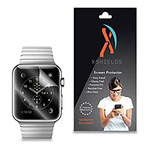 XShields© (2-Pack) Screen Protectors for Apple Watch 38mm (Ultra Clear)