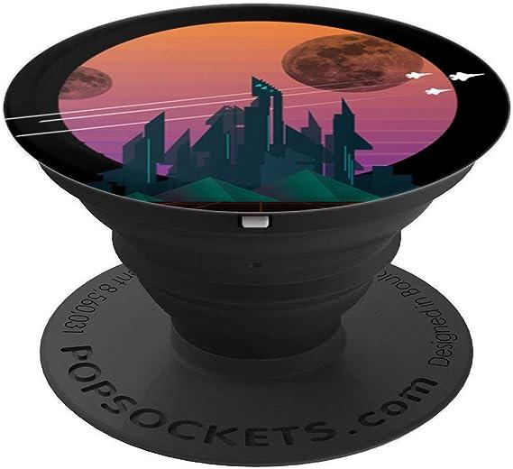 Amazon Com Retro Future Pyramid City Scifi Aesthetic Popsockets